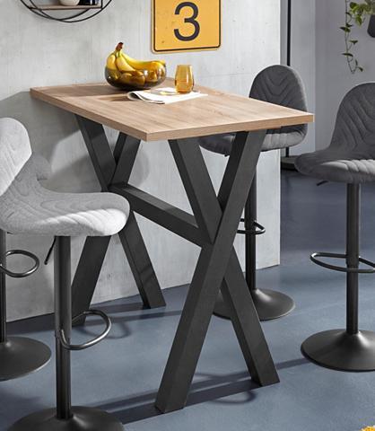 Baro staliukas Gestell in X-Form (Brei...