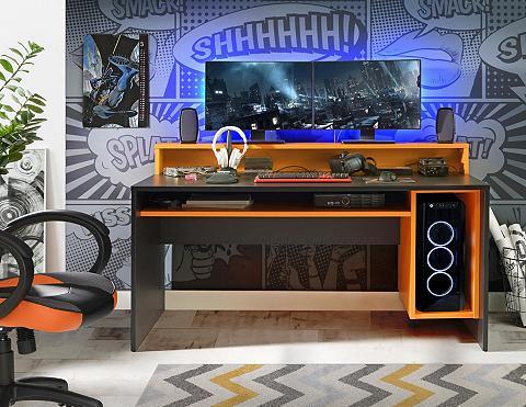 FORTE Gamingtisch »Tezaur« patogi su RGB-Bel...