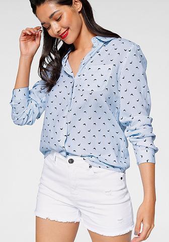 AJC Marškiniai iš švelnus laisvo stiliaus ...