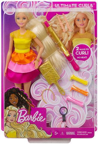 Barbie Anziehpuppe »Locken-Style lėlė blond«