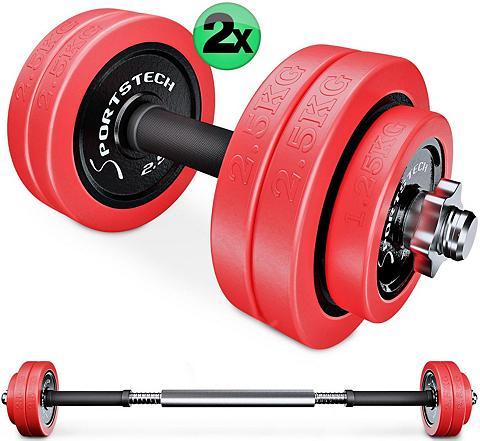 Sportstech Sportininko rinkinys 30 kg (Set 31-tlg...