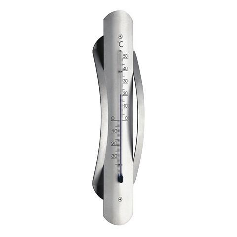 TFA Dostmann Analoges Innen-Außen-Thermometer iš Al...