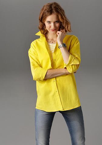 Aniston CASUAL Marškiniai su Leinen