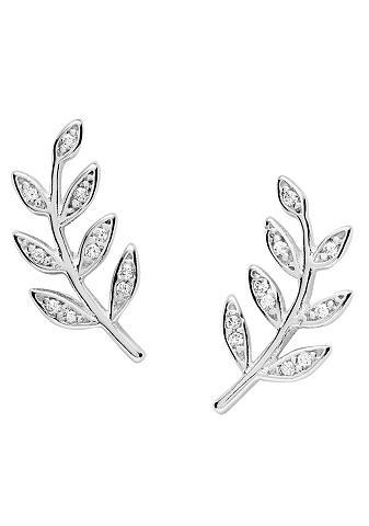 Fossil Paar auskarai »STERLING SILVER - Zweig...