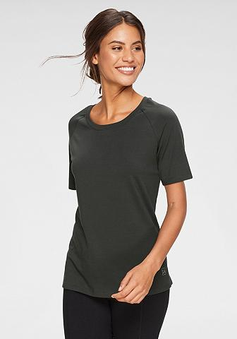 LASCANA ACTIVE Marškinėliai su Rundhalsausschnitt