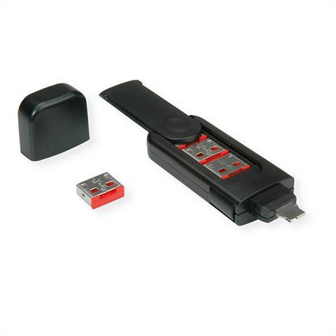 ROLINE »USB Typ A Port Blocker 4x Schloss ir ...