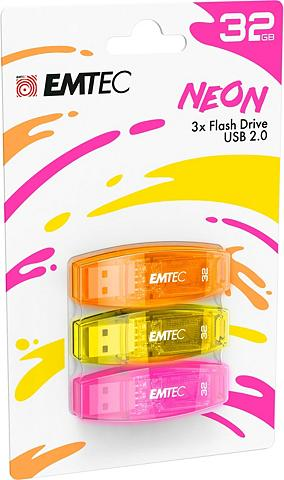 EMTEC »C410 Color derinys 2.0« USB-Stick (US...
