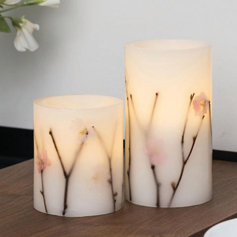 Pauleen LED-Kerze »Shiny Blossom Candle 2vnt. ...