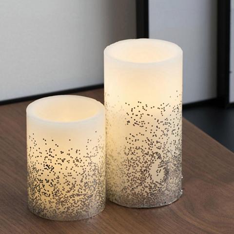 Pauleen LED-Kerze »Glowing Glitter Candle 2vnt...