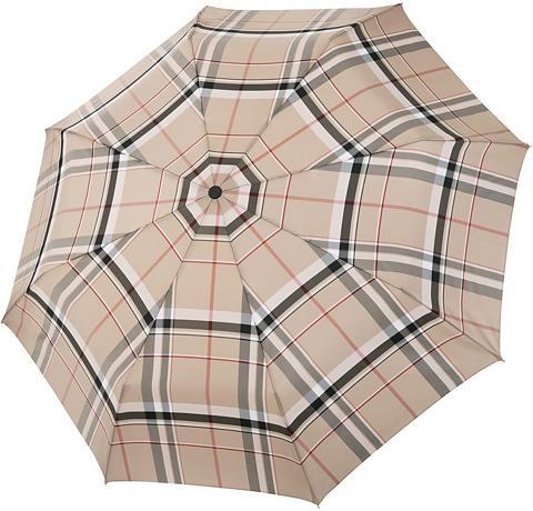 doppler MANUFAKTUR Taschenregenschirm »Serge karo beige« ...