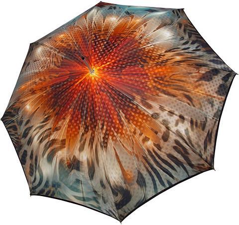 doppler MANUFAKTUR Stockregenschirm »Boheme amber« handge...