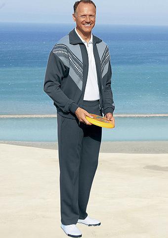 DANNECKER Vyriškas laisvalaikio kostiumas su pla...