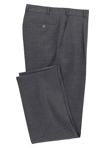 CLASSIC Kelnės su kantu su elastingas juosmuo