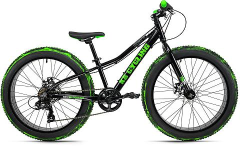 KS Cycling Fatbike »Crusher 6217« 7 Gang Shimano ...