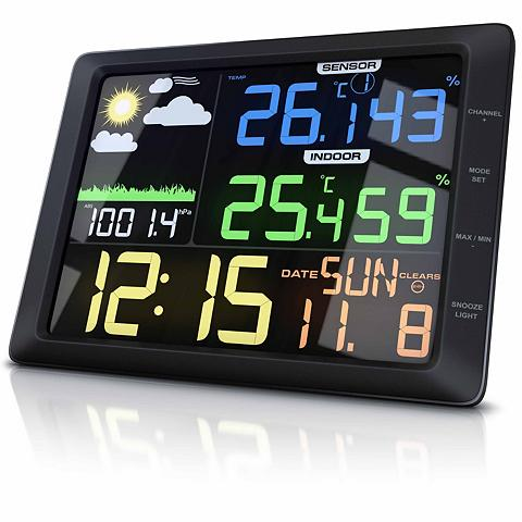 BEARWARE Wetterstation su großem LCD Farbdispla...