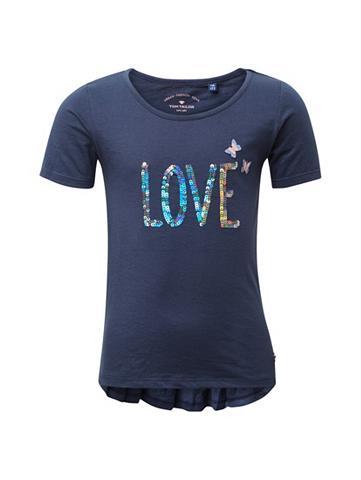 TOM TAILOR Shirtbluse »T-Shirt su Artwork«