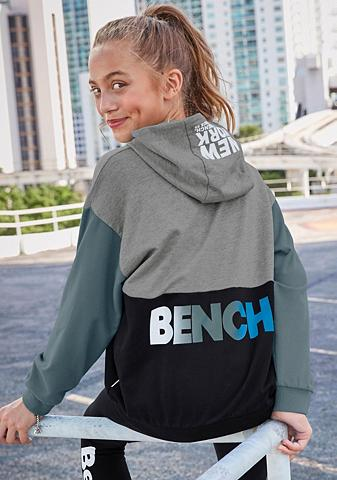 Bench. Sportinis megztinis su gobtuvu in laba...