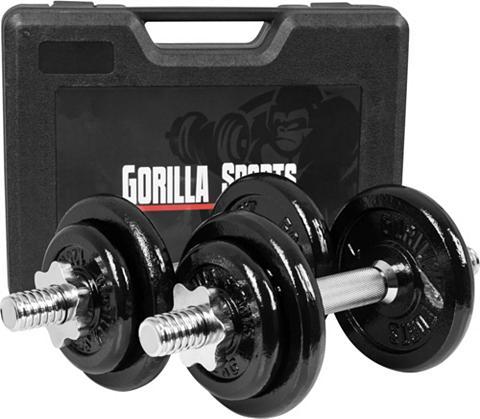 GORILLA SPORTS Sportininko rinkinys 20 kg