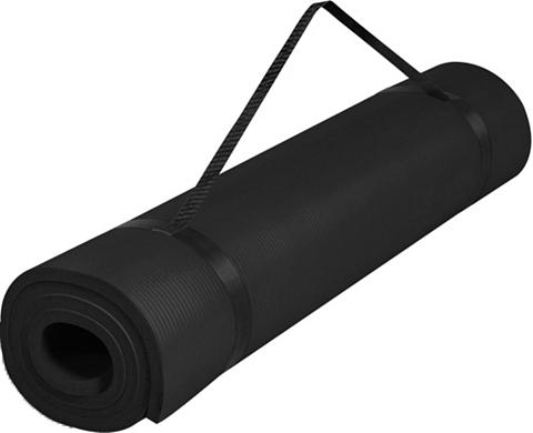 GORILLA SPORTS Yogamatte »Yogamatte juoda spalva 190 ...
