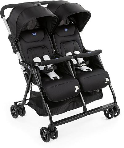 Chicco Zwillingsbuggy »OHlalà Twin Black Nigh...