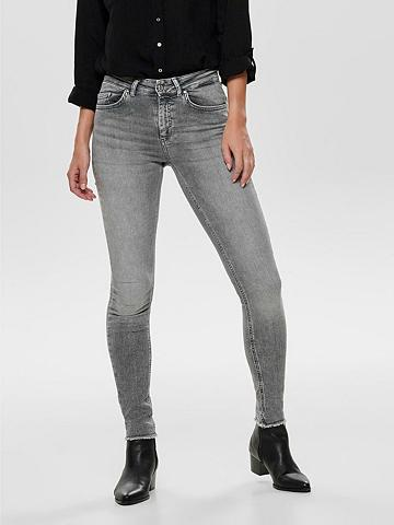 Only Skinny-fit-Jeans »BLUSH« su ausgefrans...