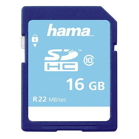 HAMA Atminties kortelė SDHC 16GB Class 10 »...
