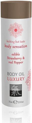 Shiatsu Massageöl »Body Oil Erdbeere 75 Massag...