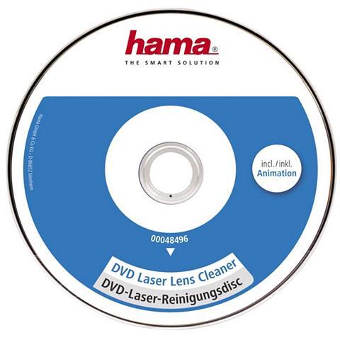 HAMA DVD valantis kompaktinis diskas su šep...