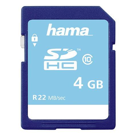 Speicherkarte SDHC 4GB Class 10 »geeig...