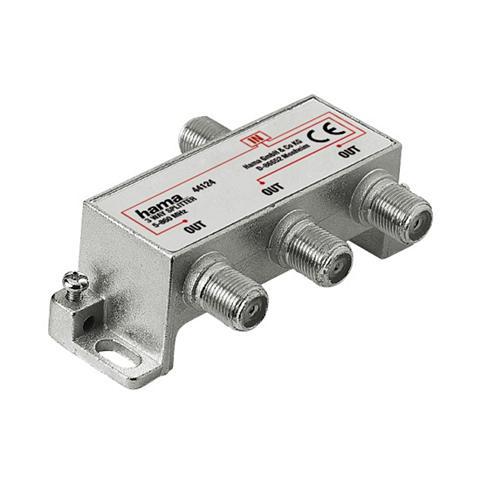 Breitband-Kabelverteiler 3-fach voll g...