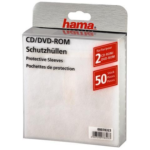 HAMA Įmautės kompaktiniams diskams 50 Weiß
