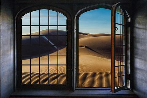 queence Wandsticker »Wüste«