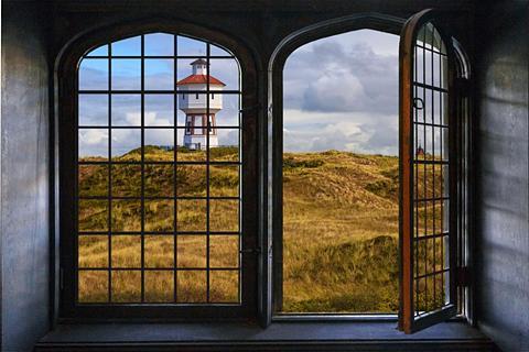 queence Wandsticker »Leuchtturm«