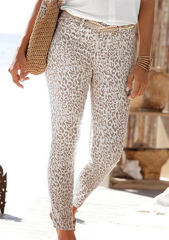 LASCANA 7/8-Jeggings su Leopardenprint