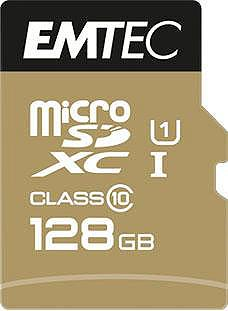 EMTEC »microSD UHS-I U1 EliteGold« Speicherk...