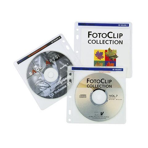 HAMA Įmautės kompaktiniams diskams 100