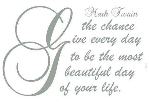 Sienos lipdukai »Mark Twain«