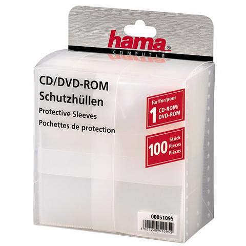 HAMA Įmautės kompaktiniams diskams 100 CD S...