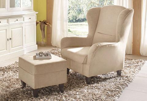 Fotelis »Nicola« su Kojų kėdutė