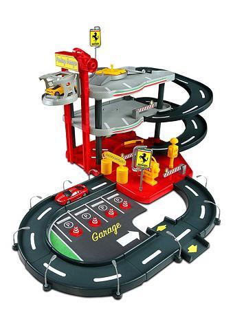 Bburago® Žaislinis garažas su Priedai ...