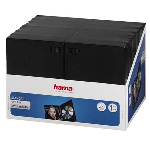 HAMA DVD-Leerhüllen 30er-Pack juoda spalva ...