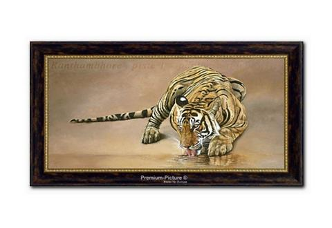 XXL paveikslas »Tiger« 115x65cm