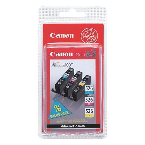 CANON Rašalo kasečių rinkinys »CLI-526 CMY«