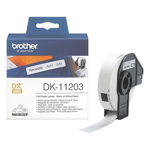 Ordner-Etiketten »DK-11203«