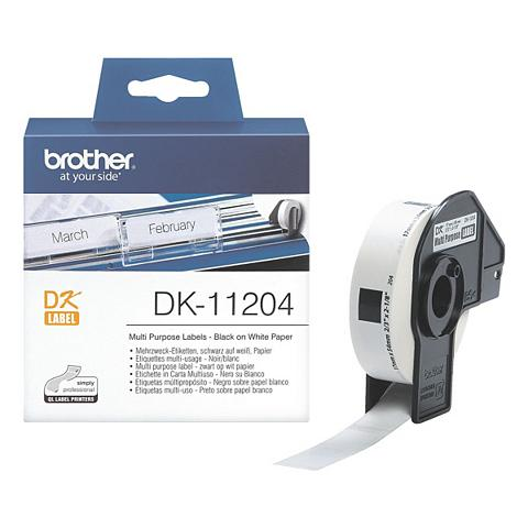 BROTHER Etiketės »DK-11204«