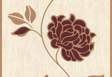 Tapetai trendig gėlės