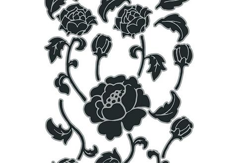 Sienų lipdukai »Tiffany« (17-tlg.)