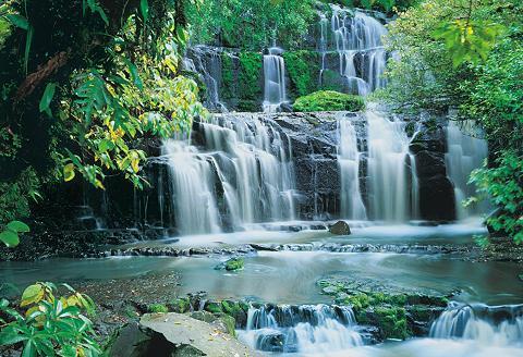 KOMAR Fototapetas »Pura Kaunui Falls« 368/25...