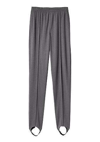 CLASSIC BASICS Aptemptos kelnės su plačiu juosmeniu