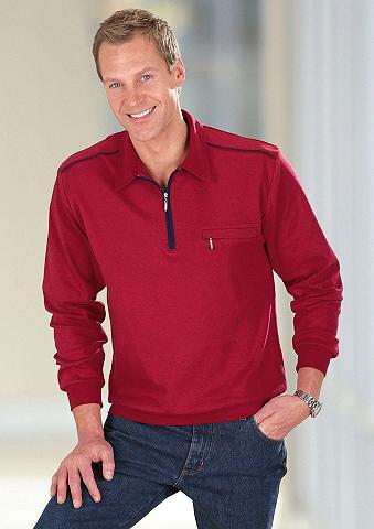 CLASSIC BASICS Polo marškinėliai su elastingas atrait...